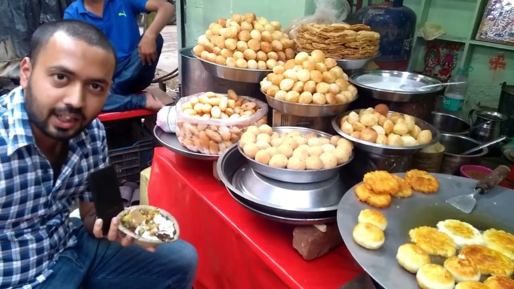 Gol Gappe and Dhokla
