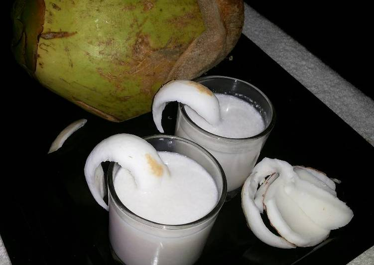 Coconut Tender Water or Coconut Crush
