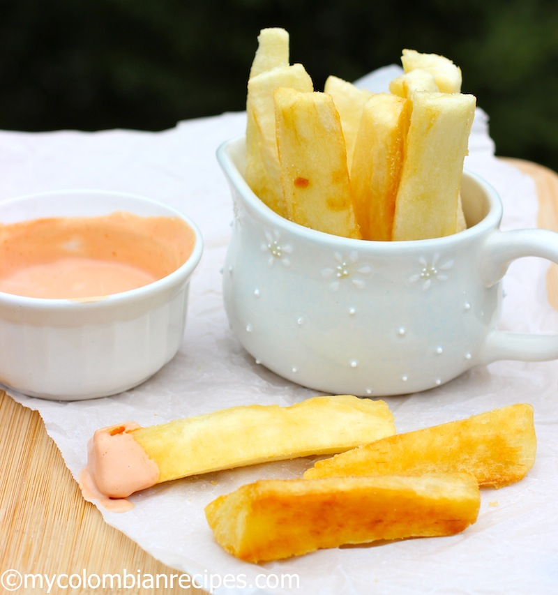 9. Yuca frita/ fried yuca/ yuca fries