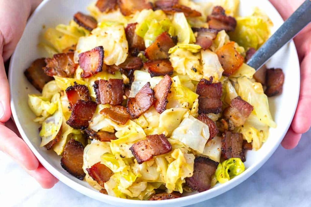 BACON AND CABBAGE