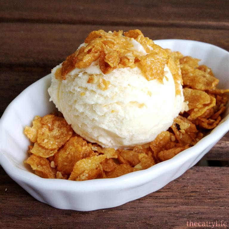 26. Cereal Ice Cream