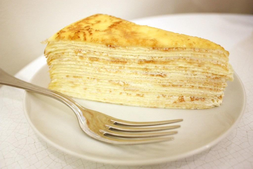 3. Mille Crepe Cake