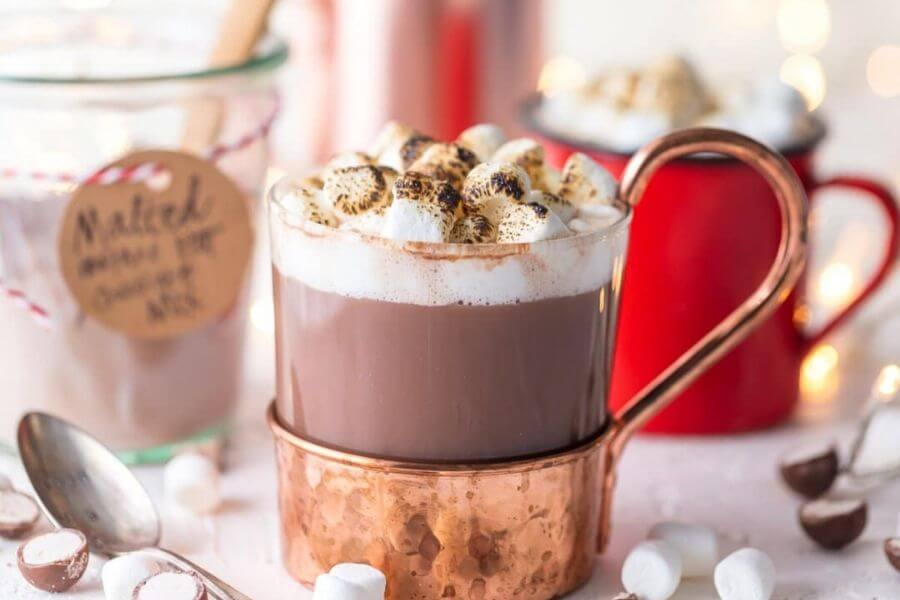 Malted Hot Chocolate